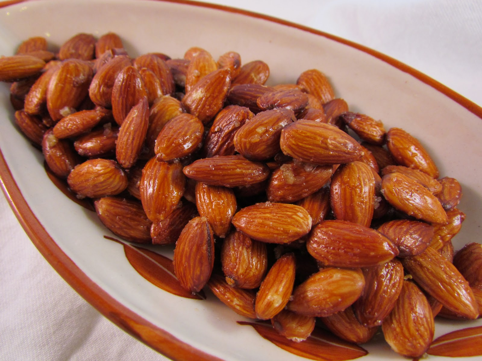 Fried Almonds Recipe — Dishmaps