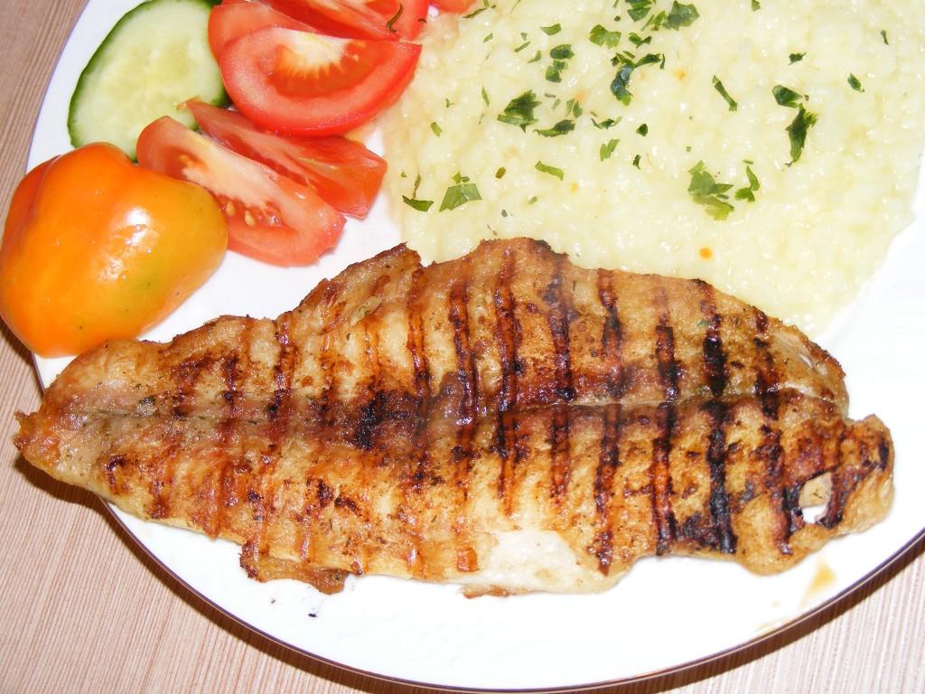 Grilled Fish Fillet gr...