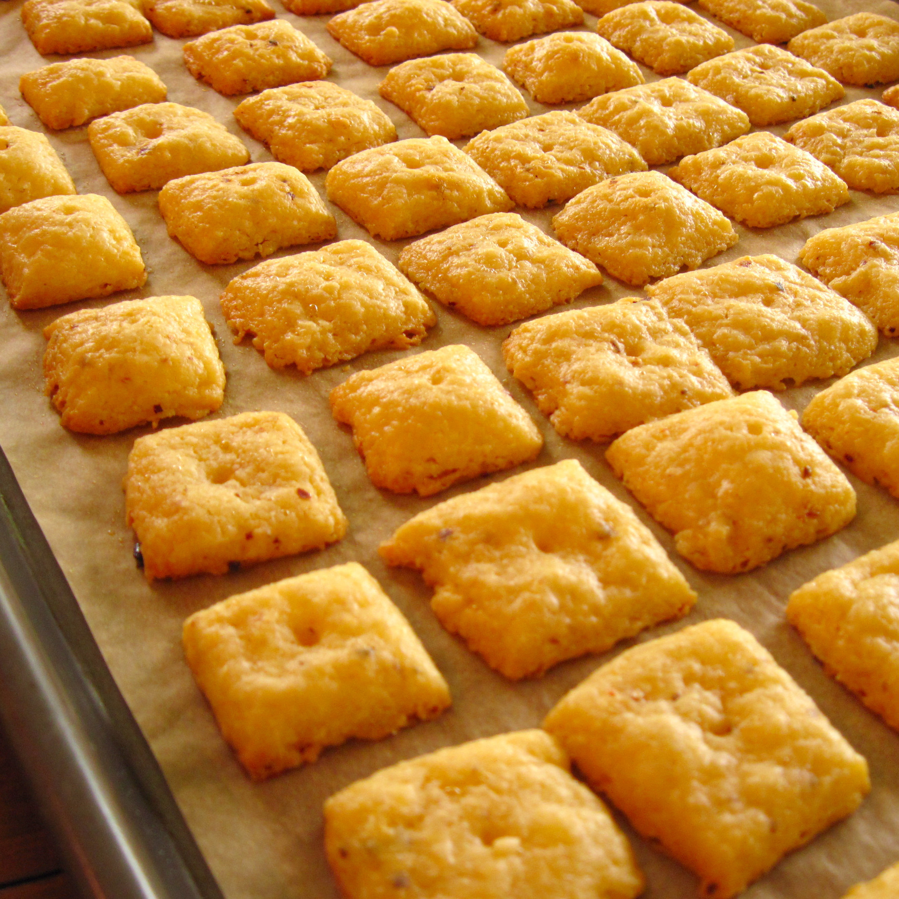 Homemade Cheese Crackers Recipes — Dishmaps