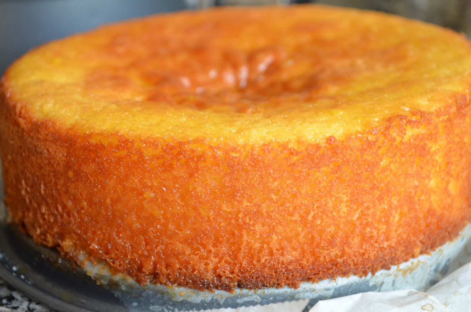 Sponge Cake Orange Recette