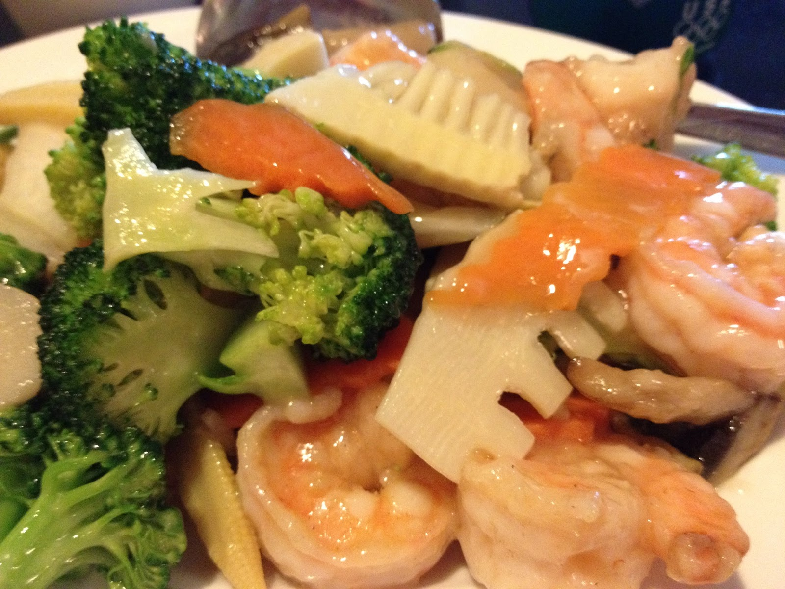 Shrimp With Asian Greens Recipes — Dishmaps