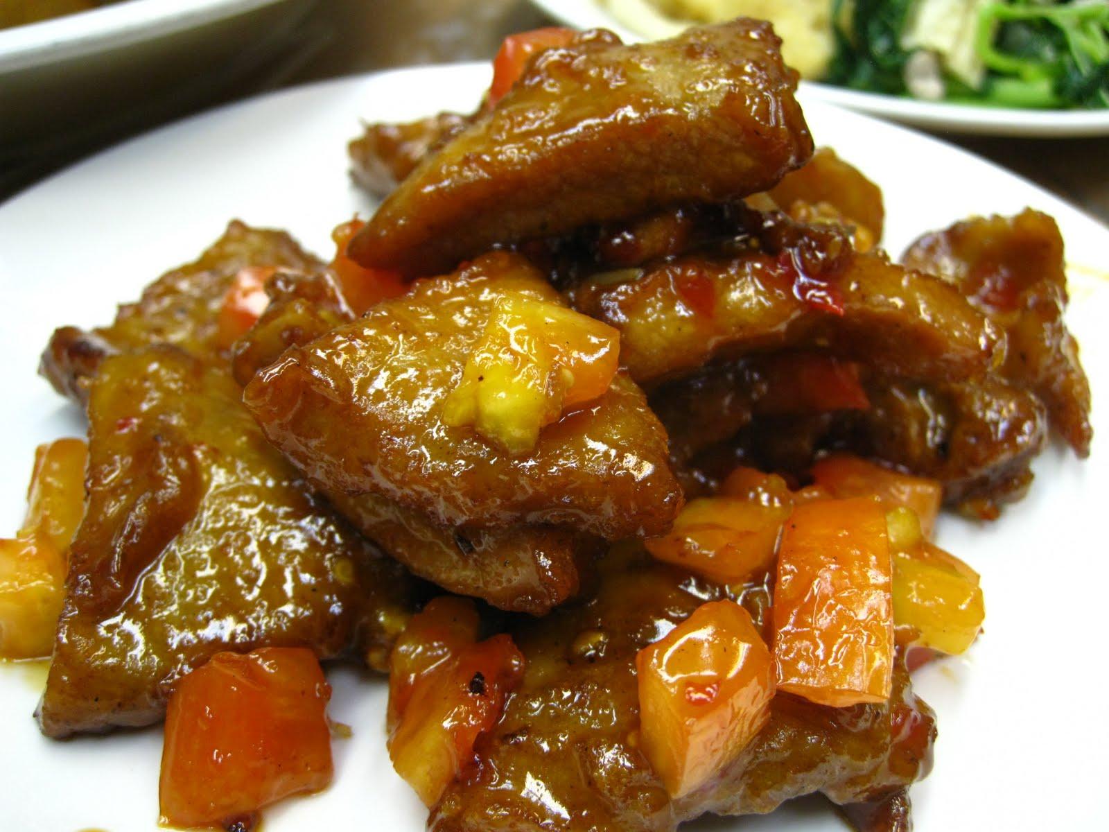شرائح اللحم بالخضار على الطريقة الصينية