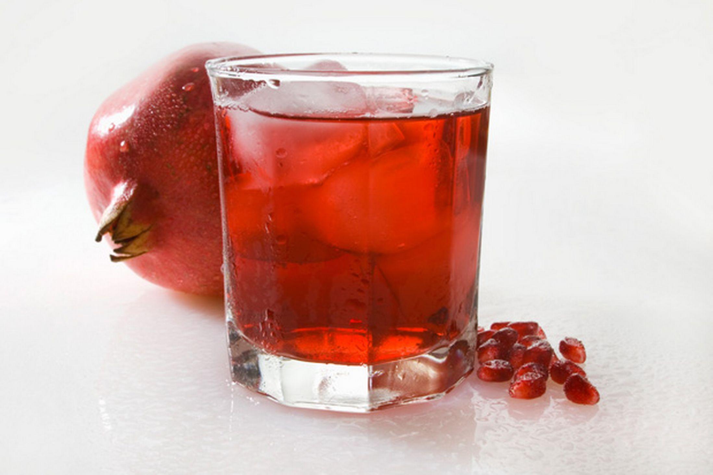عصير الرمان والحمضيات - اكلات بالصور