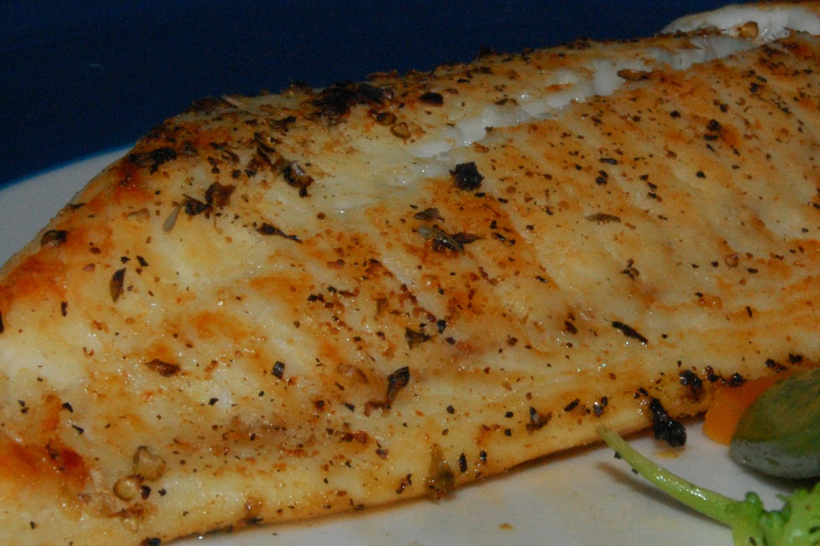Whole Broiled Tilapia Recipe — Dishmaps