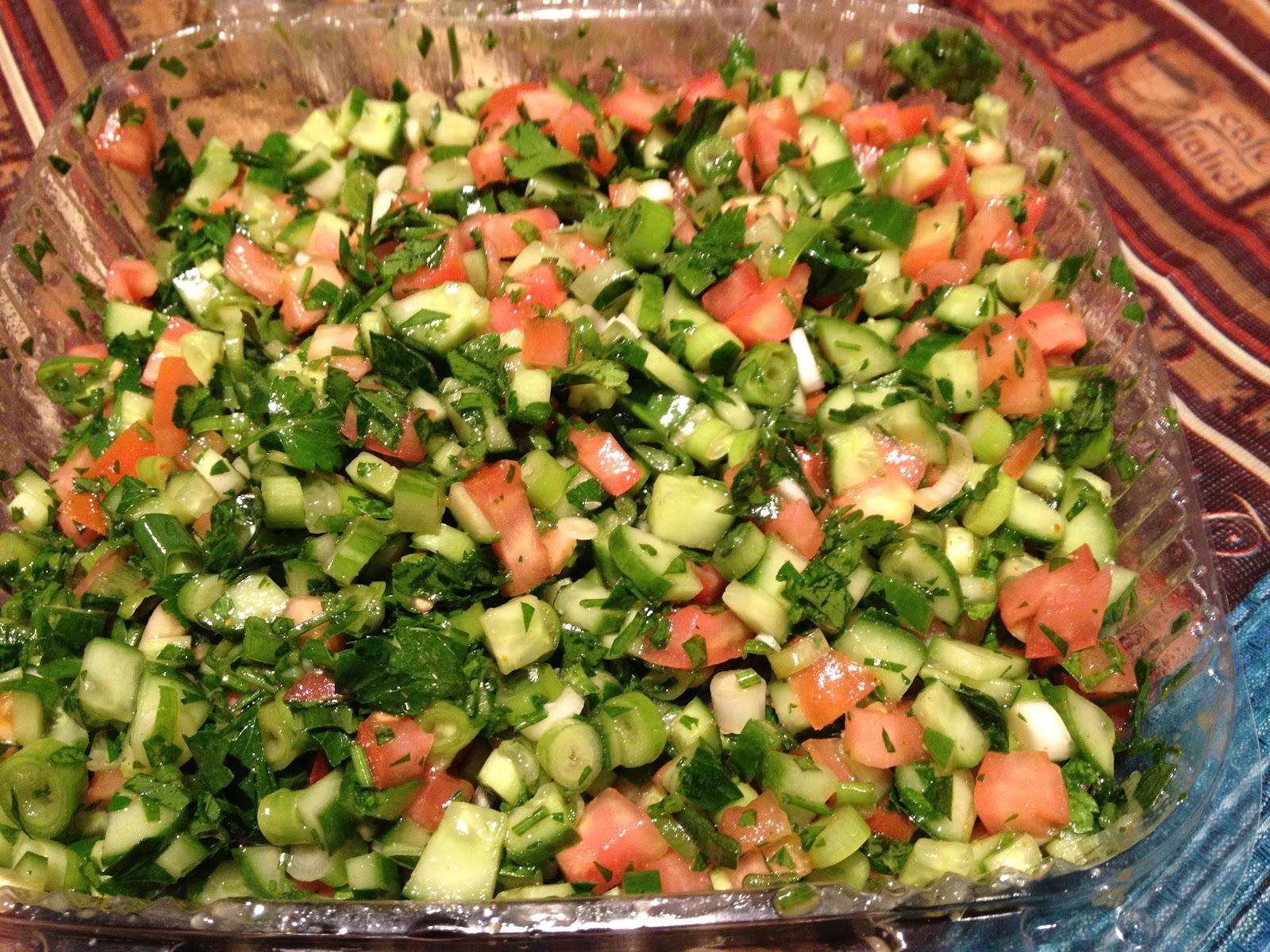 9796 egyptian salad - مكونات سلطة مصرية